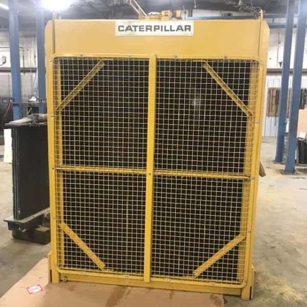 Repaired Caterpillar Radiator